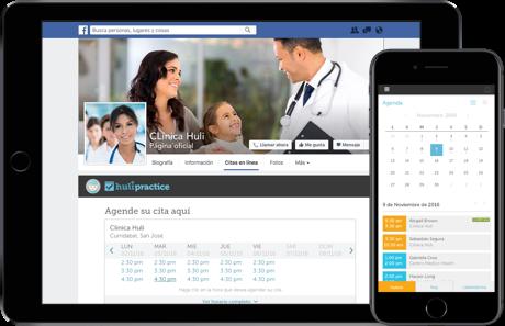 Agenda citas desde tu sitio web o Facebook